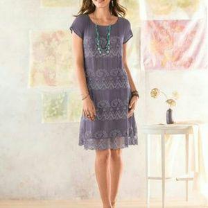 FLASH SALE Sundance Midsummer Silk Lilac Dress